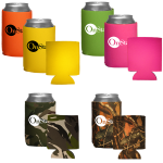 Camouflage & Neon Collapsible Koozies