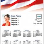Patriotic Magnetic Calendar
